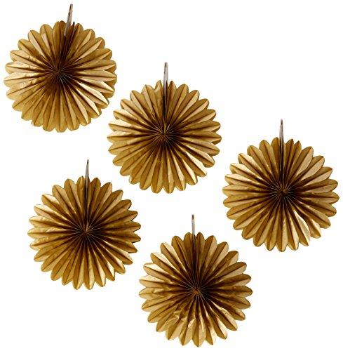 Amscan International Bag (Seesack-19-5515cm Gold Karte Fans (Award Dress Up-spiele)