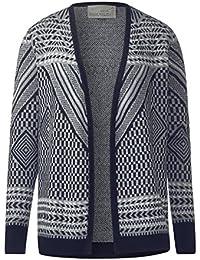 CECIL Damen Jacquard Open Cardigan