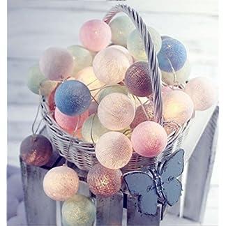 Ghope-LED-Kugeln-Blle-Lampion-Lichterkette-20er-Partylichterkette-Deko-fr-Innen-Balkon-Party-Weihnachten-Hochzeit-Feiertag-Batterie-betrieben-3m-Warmwei-Licht