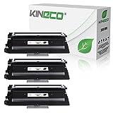 Kineco 3 Toner kompatibel für TN-3380 für Brother HL-5450, DCP-8100 Series, HL-5400 Series, HL-6100 Series, MFC-8510DN, MFC_8710DW, MFC-8950DW - TN3380 - Schwarz je 8.000 Seiten