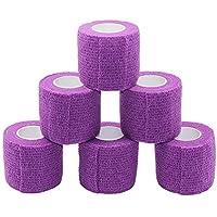Fuluning, 6er Pack, 5,1 cm X 5 Meter, Handgelenk Tape selbstklebend Haftbandage Tape, stark Sport Tape für Handgelenk... preisvergleich bei billige-tabletten.eu
