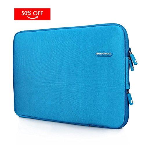 WIWU Neopren Notebook Hülle für Macbook Pro Retina 15,4 Zoll Display Wasserdicht Computer Tasche / Tablet Beutel Stoßfest Schutzhülle Klassik Stil (Blau, 15 Zoll) (Freundliche Eco Aktentasche)