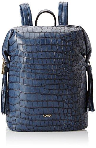 Gaudì Backpack Linea Alicia, Borsa a Mano Donna, 23 x 29 x 12 cm (W x H x L) Blu (Blue)