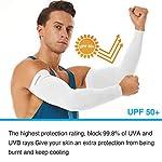 KMMIN-Manicotto-Braccio-UV-UPF-50-Protezione-Maniche-di-Ghiaccio-Raffreddamento-moderato-Sport-allaperto-Guidare-Guanti-protettivi-Coprire-Il-Tatuaggio-Adulto