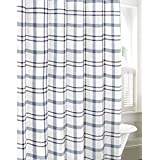 Eddie Bauer Cordova Shower Curtain, 72x72, Lt-Pastel Blue