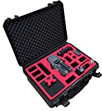 MC-CASES ® Profi Transportkoffer passend für DJI Mavic Pro und Platinum (Explorer Edition) mit Platz für insgesamt 7 Akkus und viel Zubehör - Made in Germany -