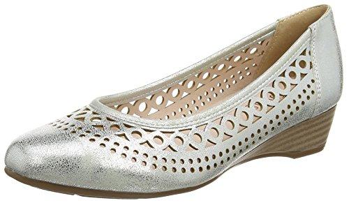 Lotus Toff, Escarpins femme Silver (silver Metallic)