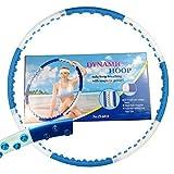 Hula Hoop Magnetic Dynamic Hoop JS 6010-1,8kg-Fitness-abnehmen-Massage pneumatici.