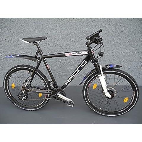26pollici Alu 21marce Shimano mozzo dinamo StVZO DISC per bici MTB