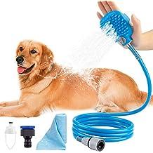 Hengu Herramienta de baño para Mascotas, Cepillo del rociador de la Ducha del Gato del