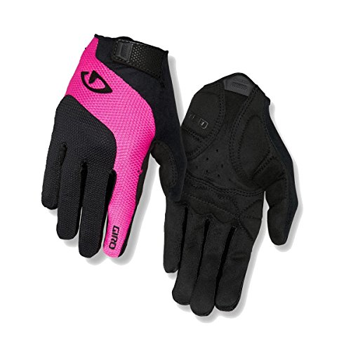 Giro Damen Tessa Gel LF Fahrradhandschuhe, Black/pink, M