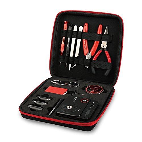 Bobina Master diyv3Kit V3conjunto de herramientas con la última Bobina Jig (V4)/521Tab Mini lector de Ohms/pinzas/resistente al calor  el más nuevo kit de herramientas de alambre