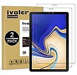 ivoler [2 Pack] Vetro Temperato Compatibile con Samsung Galaxy Tab S4 10.5 Pollici (T830 / T835), Pellicola Protettiva, Protezione per Schermo - Transparent