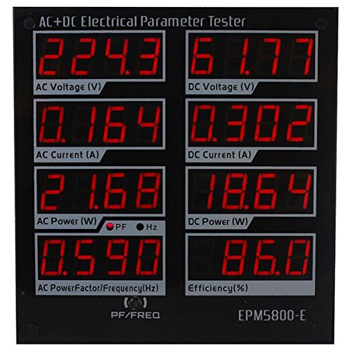 EPM5800-E AC/DC Power Meter Watt Meter Elektrische Paremeters Tester Netzteil Treiber Tester