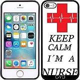 Coque Silicone pour Iphone 5/5S - Infirmière Médecin En Santé by...