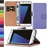 HANDYPELLE® Tasche für Samsung Galaxy S7 im Bookstyle in Flieder