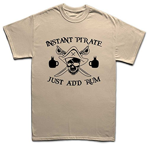 Instant Pirate Of Caribbean Funny T-shirt Beige
