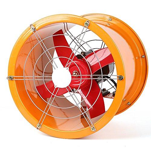 Rauch-maschinen (ZZHDDP Edelstahl-Hochgeschwindigkeitsindustrie-Abluftventilator- / Werkstatt-Zylinder-starke Küche übt Abluftventilator- / Kreativität-Rauch-Maschine / Belüftungs-Ventilator 14 Zoll aus)