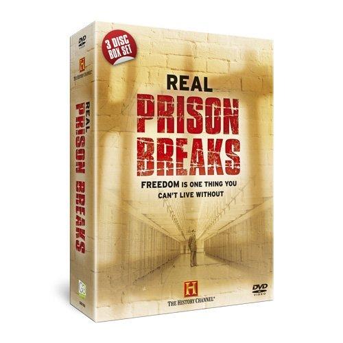 Real Prison Breaks (3-Disc Box Set) [NON USA FORMATTED VERSION REGION 2 DVD]