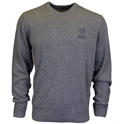 Franklin & Marshall Maglione grigio Grey XX-Large