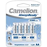 Camelion HR6 Mignon AA AlwaysReady Lot de 4 2300mAh
