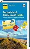 ADAC Campingführer Deutschland und Nordeuropa 2017: mit herausnehmbarer Planungskarte - ADAC Verlag GmbH & Co. KG