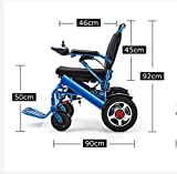 DDPP Lightweight Folding Carrying Electric Wheelchair, Electric Wheelchair,