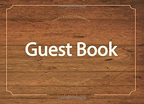 Guest Book: For Party Guest Book,Baby Shower,Bridal Shower,Birthday,Wedding and Anniversary: Volume 7 (Events & Party Guest