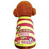 EUZeo Cute Dog Clothes Hunde-T-Shirt Kostüme Briefe Gedruckt Pullover Hundeshitrs Weaste Hündchen Hunde Hemden Kleiner Hund Shirts Hundepullover