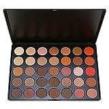 Frola–Pro 35colori impermeabile trucco ombretto kit set include colore caldo opaco Shimmer ombretto palette