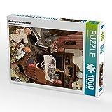 CALVENDO Puzzle Kinderspiel im Esszimmer 1000 Teile Lege-Größe 48 x 64 cm Foto-Puzzle Bild von...
