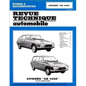 Revue Technique 325.4 Citroën Gs 1220 et Gsx 2 (1973/1979)