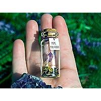 Mensaje en una botella. Miniaturas. Regalo personalizado. Divertida postal para