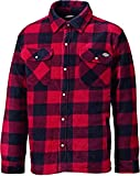 Dickies Portland Men's Work Shirt High Quality Padded Jacket Fleece Checked Design...