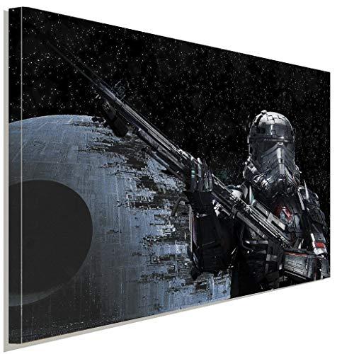 Star Wars Stormtrooper 2 Leinwandbild LaraArt Studio Wanddeko Wandbild (60x 40 cm) (Neue Stormtrooper Outfit)