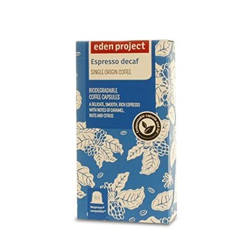 30 Plastic Free Eden Project 100% Home Compostable Nespresso Compatible Capsules (Americano)