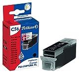 Pelikan Druckerpatrone C56 ersetzt Canon PGI-550PGBK XL, Schwarz (pigment)