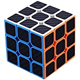 AGAMI High Speed Carbon Fiber Sticker 3x3 Neon Colors Magic Rubik Cube