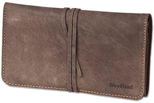 Woodland® - Schreibgeräte-Mappe aus Büffelleder