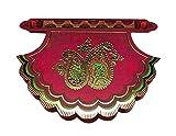 KRIWIN Pack of 10 Designer Envelopes (Red Color)(Fan/Pankha Style)