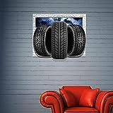XXTT-pegatinas autoadhesivas tridimensionales HD fondos de pantalla de pared pegatinas dormitorio living comedor fondo sofá de la TV