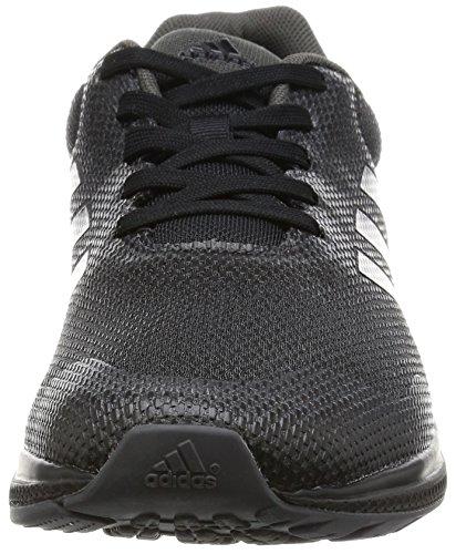 adidas Mana Bounce 2, Chaussures de Running Compétition Homme Noir (Core Black/silver Metallic/onix)