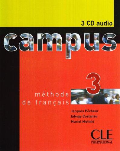 Campus 3 : 3 CD audio collectifs