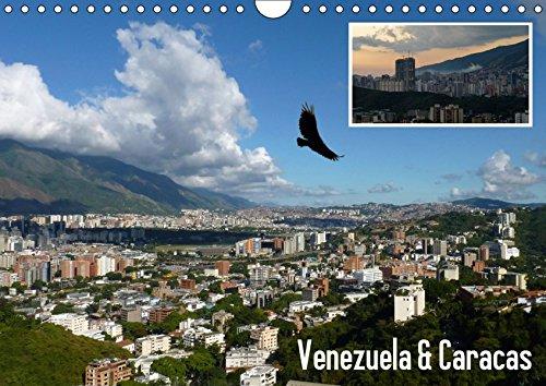 Venezuela & Caracas (Wandkalender 2019 DIN A4 quer): Natur und Architektur von Venezuela und Caracas (Monatskalender, 14 Seiten ) (CALVENDO Orte)