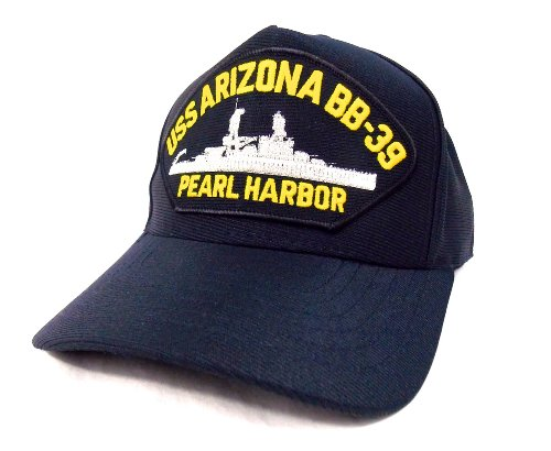 uss-arizona-bb39-casquette-brodee-marine-militaire-americain-us-navy-pearl-harbor-cap-hat-made-in-us