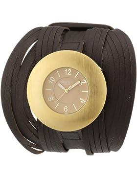 Mike Ellis New York Unisex-Armbanduhr Analog Quarz Plastik L2966AGU
