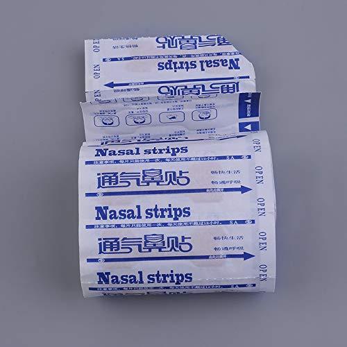 deYukiko 50pcs Great Breathing Nasal Strips Stop Schnarchen Anti Schnarchen Streifen Patch Haut