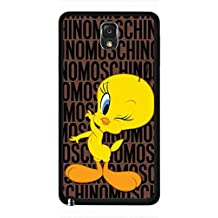Moschino Samsung Galaxy Note 3 Protective Skin,Unique Moschino Tweety Bird Lovely Design Phone funda for Samsung Galaxy Note 3