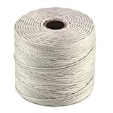 S-Lon Bead Cord Silver Qty 1 for sale  Delivered anywhere in Ireland