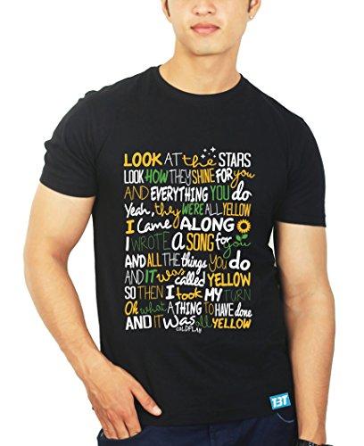 Yellow Song Coldplay Tshirt - Band Tshirts by The Banyan Tee ™